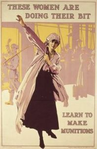 British recruitment poster from BBC website