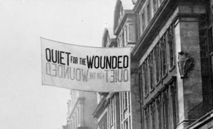 Sign in Charing Cross Road - one of the fascinating images on IWM's Home Front website